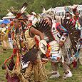 Powwow dance