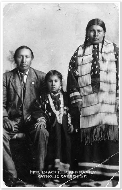 Black Elk family photo