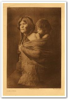 Hopi mother