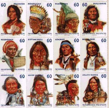 Native American Stamps
