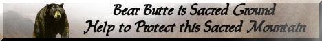 Defend Bear Butte Bear