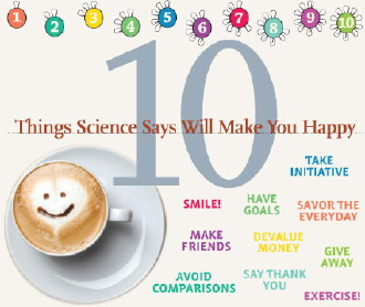10 things happiness