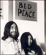 John and Yoko Canada bed-in