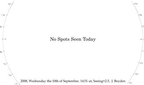 No Spot Seen Today