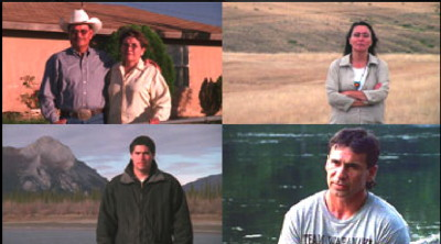 HOMELAND : Four Portraits of Native Action