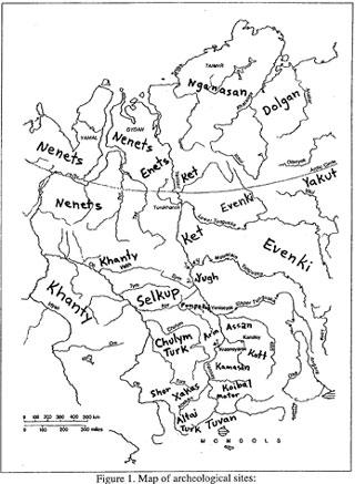 イェニセイ川の先史時代