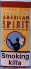 Natural American Spirit hand rolling tobacco