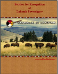 Petition for Recognition of Lakotah Sovereignty