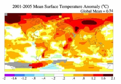 How Earth Temperatures Changed