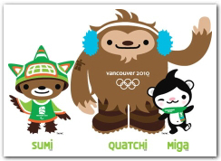 The Vancouver 2010 Mascots